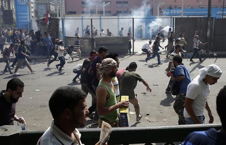 """Протестные акции членов движения """"Братья-мусульмане"""" в августе 2013 года"""