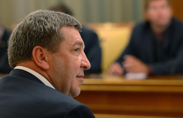 Министр регионального развития России Игорь Слюняев