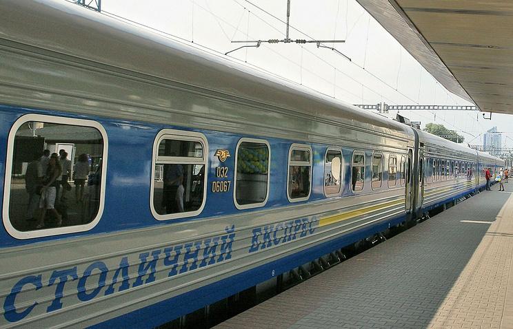 Поезд Москва-Киев