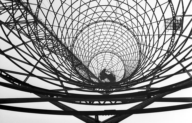 Шуховская башня. 1979 год