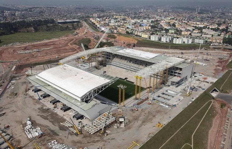 Стадион в Сан-Паулу