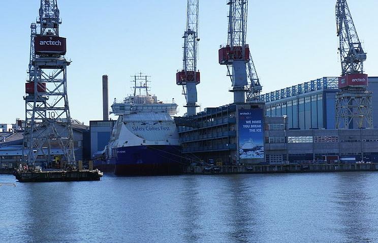 """Судостроительная компания """"Arctech Helsinki Shipyard"""""""