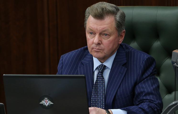 Полномочный представитель президента РФ в Крымском федеральном округе Олег Белавенцев
