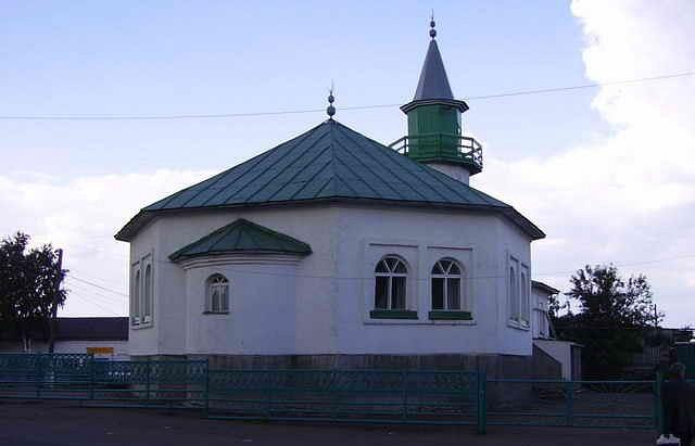 Мечеть в селе Бураево