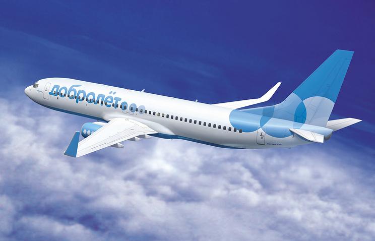 """Проект самолета """"Добролет"""" с новым логотипом на борту от авиакомпании """"Аэрофлот"""""""