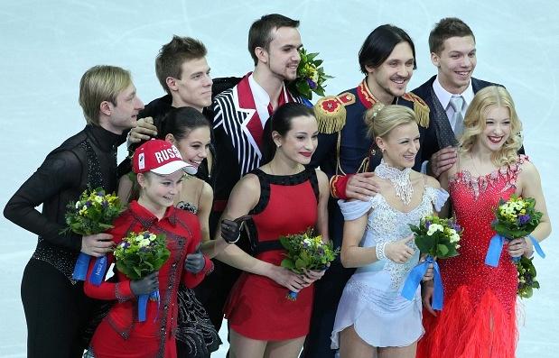 Российская сборная по фигурному катанию на Олимпиаде в Сочи