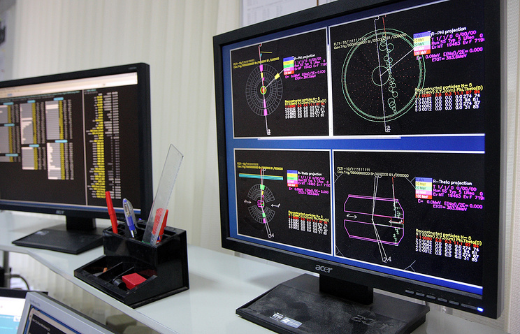 Электрон-позитронного коллайдера в Институте ядерной физики имени Г.И.Будкера в Новосибирске