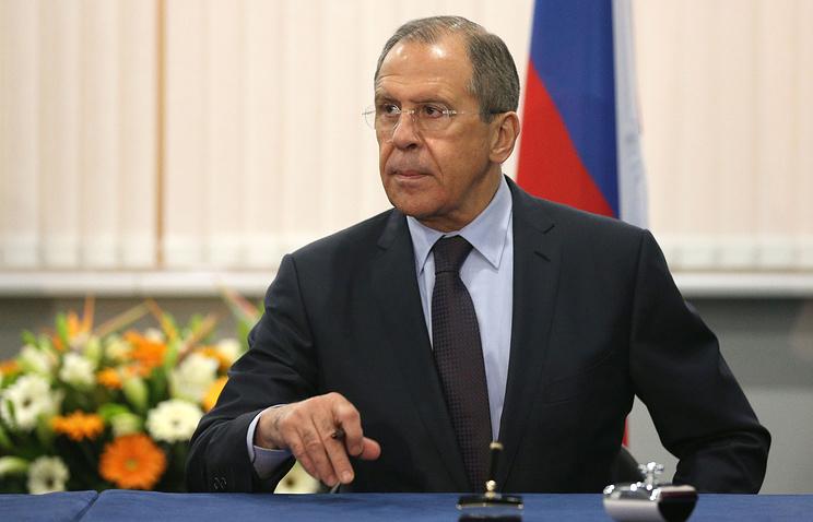 Глава МИД Российской Федерации Сергей Лавров