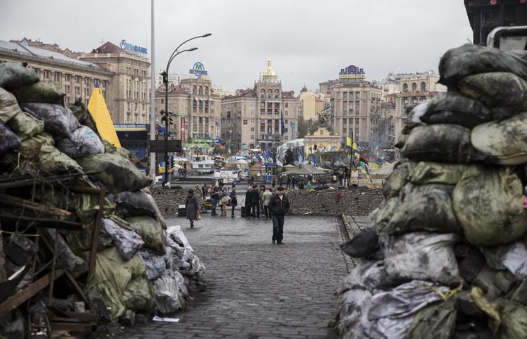 Площади Независимости в Киеве