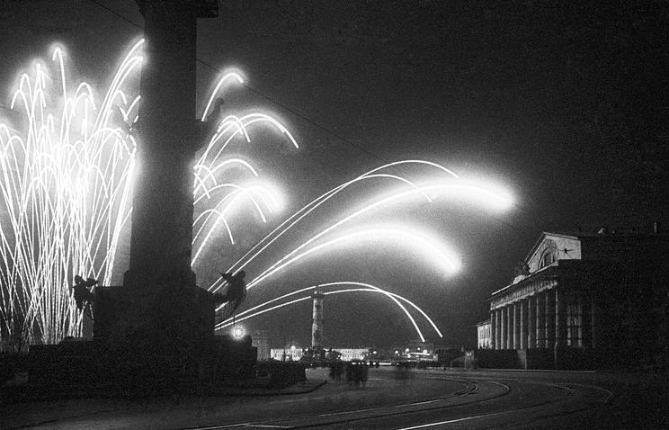День Победы в Ленинграде, 1945 г.