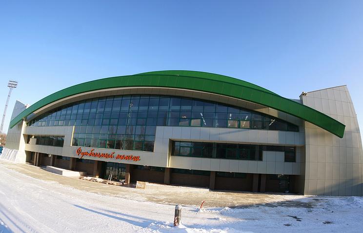 Крытый футбольный манеж в Екатеринбурге