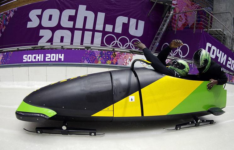 Ямайские спортсмены в Сочи