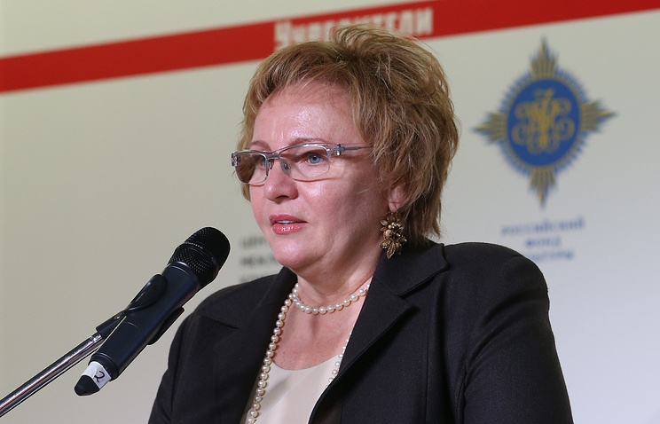 Учредитель Центра развития межличностных коммуникаций Людмила Путина