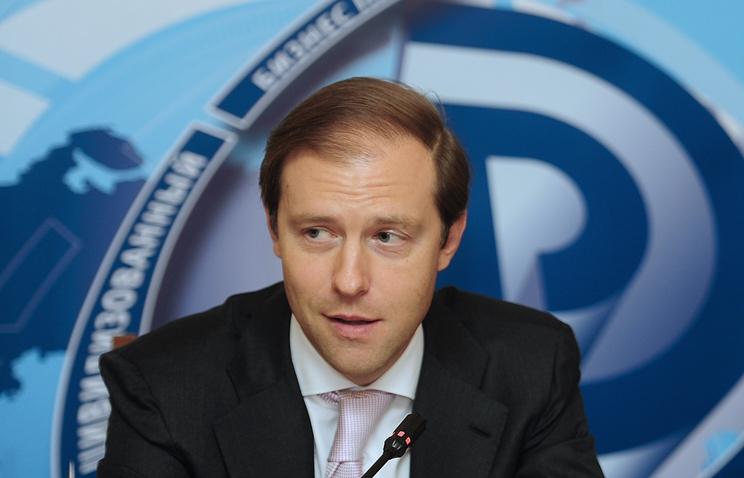 Глава Минпромторга Денис Мантуров