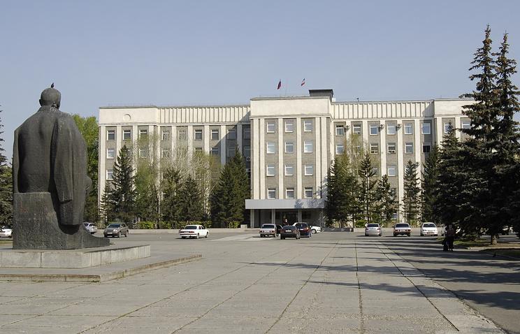 Абакан, здание правительства Республики Хакасия