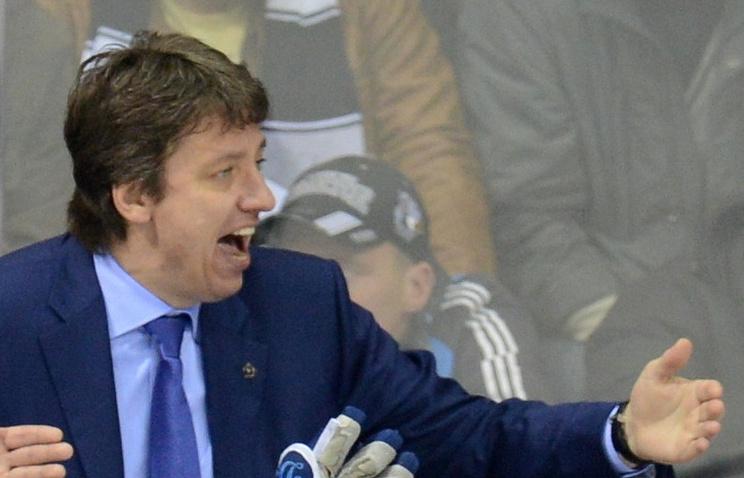 Тренер российской команды Харийс Витолиньш
