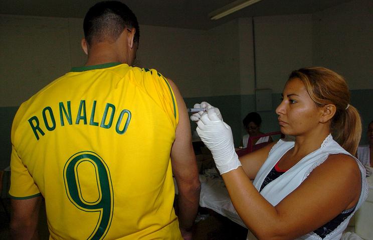 Вакцинация от желтой лихорадки