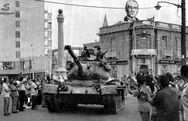 Никосия, 1974 год
