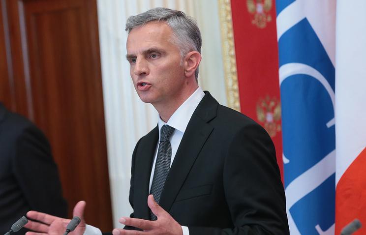 председатель ОБСЕ Дидье Буркхальтер
