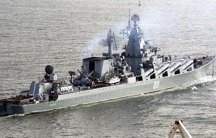 """Гвардейский ракетный крейсер """"Варяг"""""""