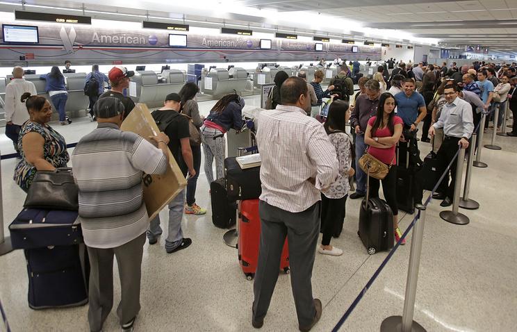 Международный аэропорт Майами. 15 мая 2014 года