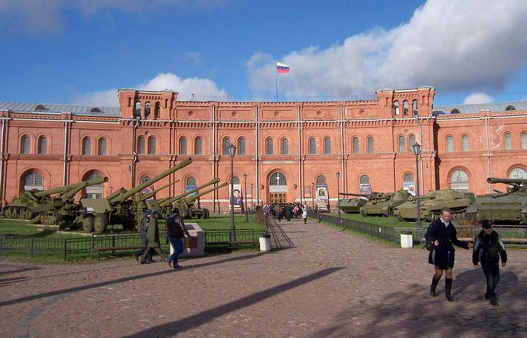 Музей Артилерии  в Санкт-Петербурге