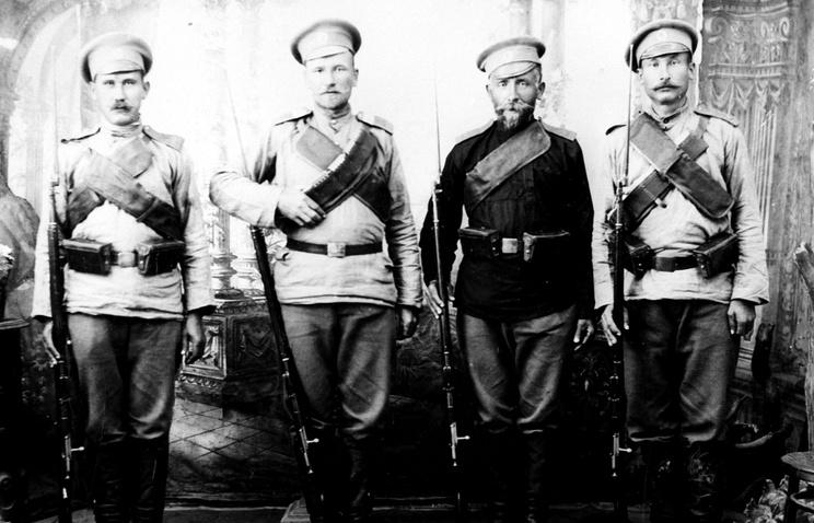 Русские солдаты Первой Мировой войны