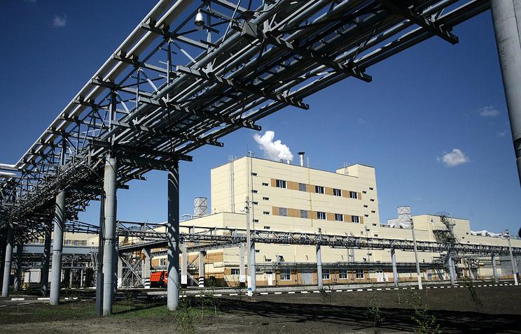 Завод по уничтожению химического оружия в городе Щучье