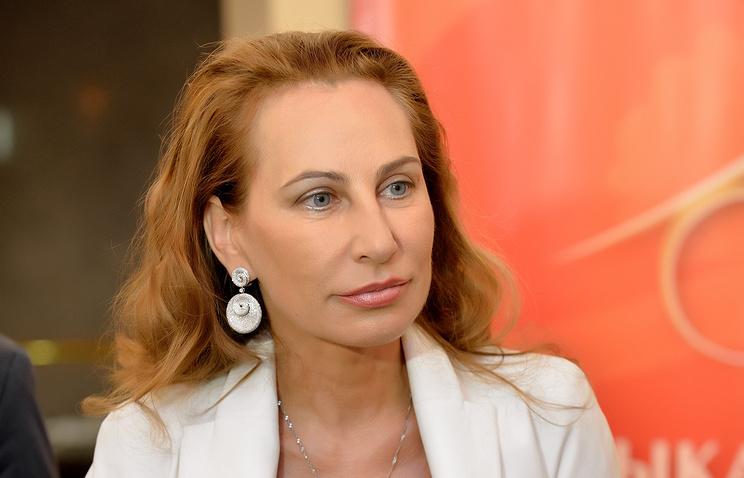 """Президент фонда """"Музыкальный Олимп"""" Ирина Никитина"""