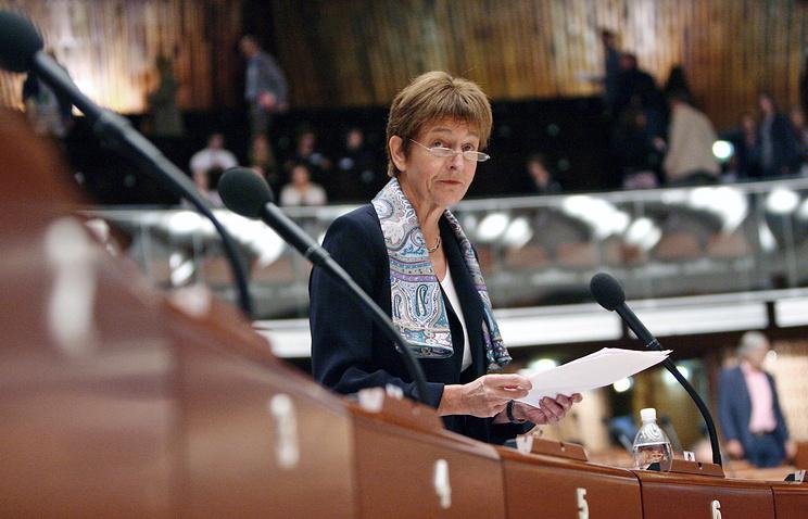 Анна Брассер, председатель Парламентской ассамблеи Совета Европы (ПАСЕ)
