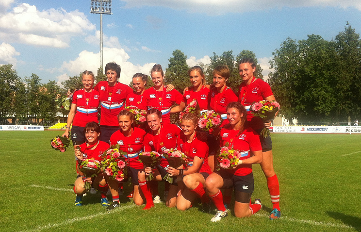 Женская сборная России по регби-7
