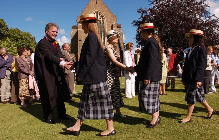 Британская частная школа Bromsgrove, выпускной