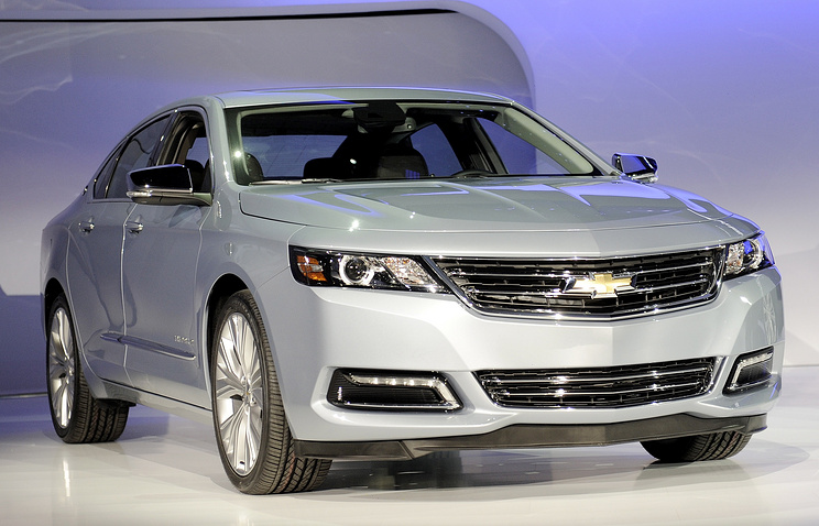 Chevrolet Impala 2014 года