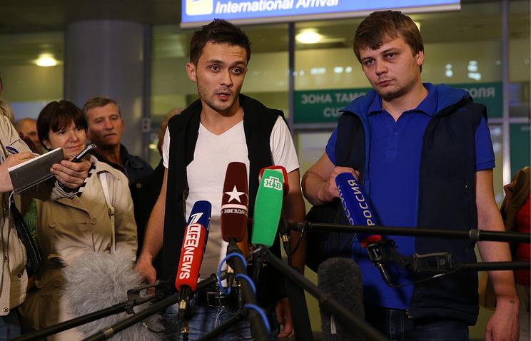 Евгений Давыдов и Никита Конашенков