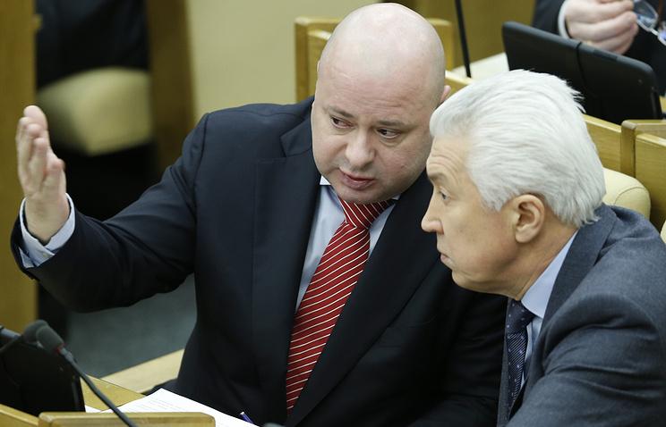 Михаил Маркелов и Владимир Васильев