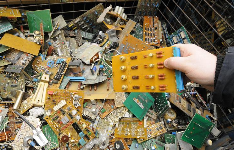 Сортировка промышленных отходов