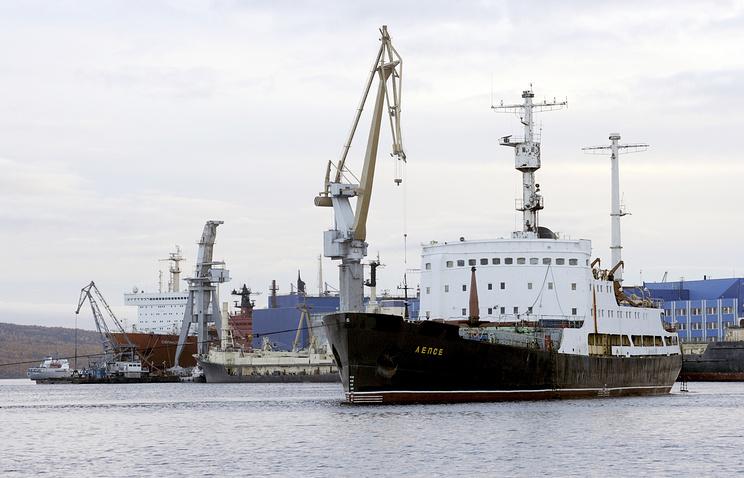 "Утилизация судна ""Лепсе"" в Мурманске"