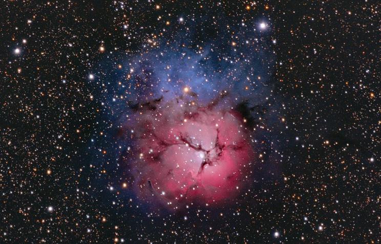Trifid nebula (Трехраздельная Туманность)