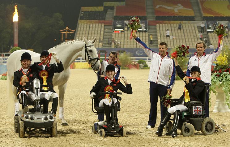 Призеры выездки на летней Олимпиаде в Пекине, 2008