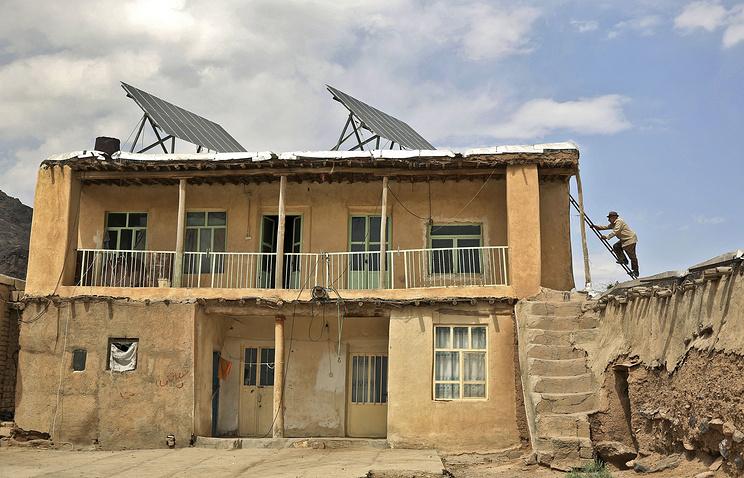 Дом в деревне, расположенной в 200 км к северо-западу от столицы Ирана