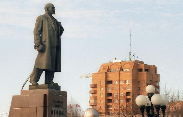 Подольск. Площадь Ленина