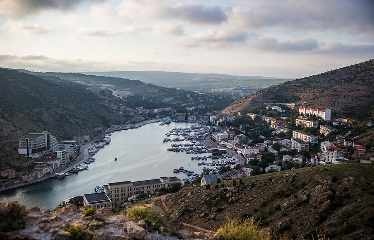 Крым. Вид на Балаклаву