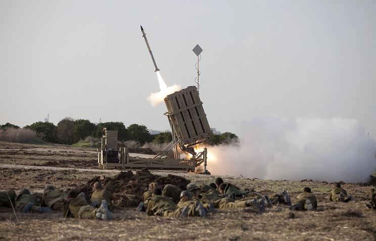 """Система ПВО Израиля """"Железный купол"""""""