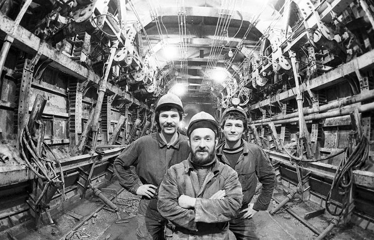 Строительство БАМа, 1983 год