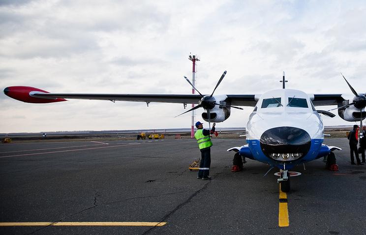 Пассажирский самолет L-410