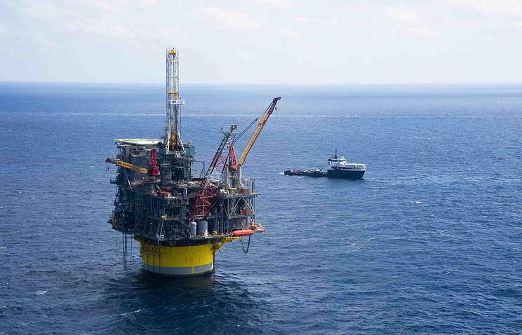 Платформа Royal Dutch Shell в Мексиканском заливе