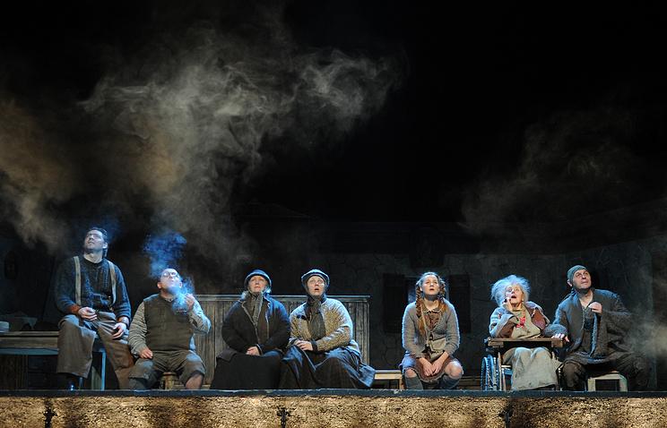 Спектакль в Театре на Таганке