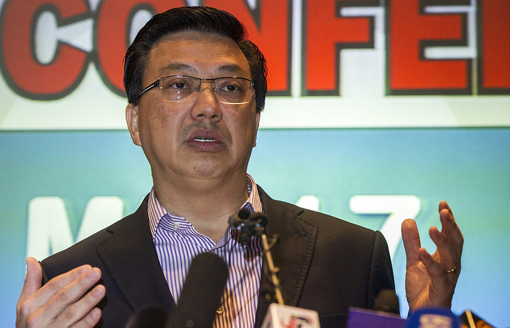 Малайзийский министр транспорта Лиоу Тионг Лай
