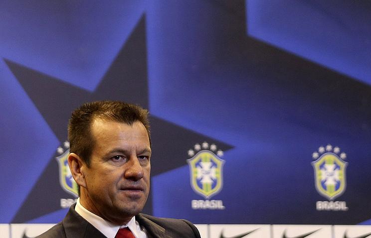 Главный тренер сборной Бразилии Дунга
