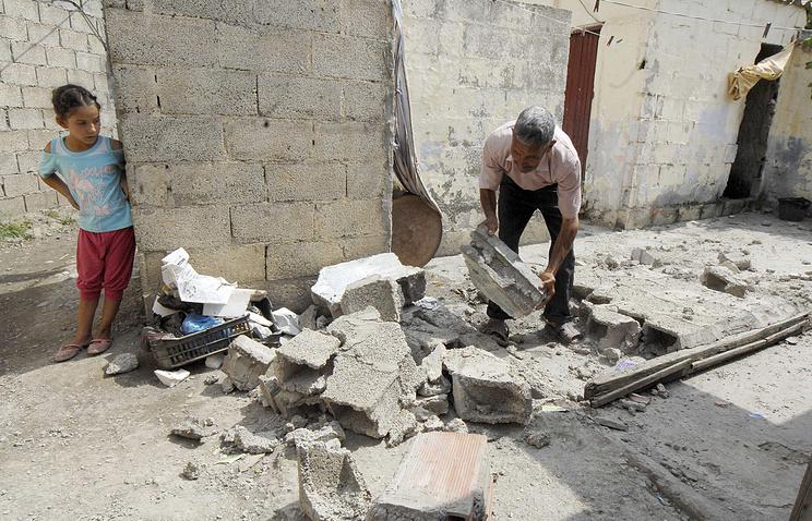Землетрясение в Алжире, архивное фото